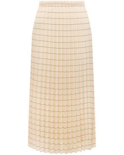 Плиссированная юбка - белая Windsor
