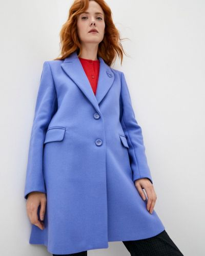 Пальто - синее Love Moschino