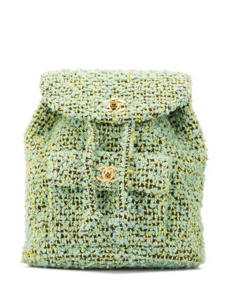 Plecak czarny żółty Chanel Pre-owned
