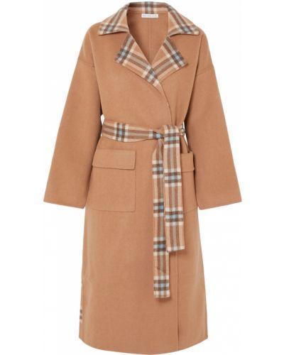 Открытое шерстяное пальто двустороннее Rejina Pyo