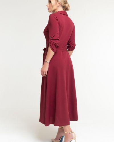 Платье-рубашка с поясом на пуговицах Петербургский Швейный Дом
