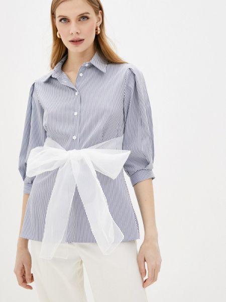 Блузка с длинным рукавом синяя весенний Imperial