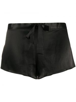 Черные шорты на шнуровке Gilda & Pearl