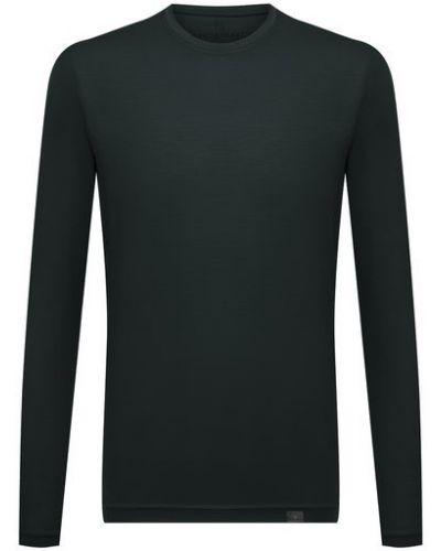 Зеленая шерстяная футболка Capobianco