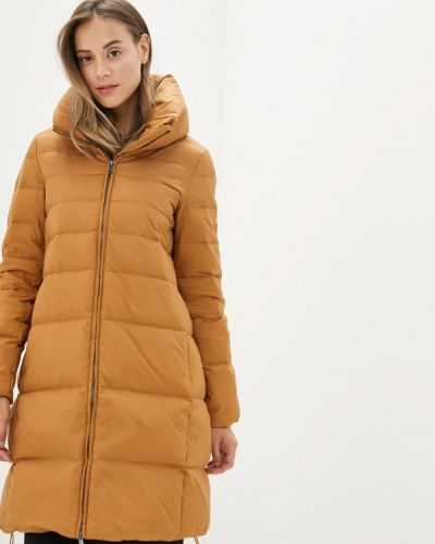 Зимняя куртка осенняя коричневая United Colors Of Benetton