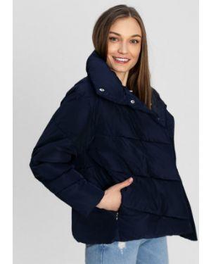Синяя куртка на молнии с воротником металлическая Ostin