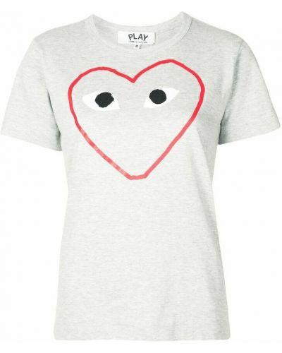 T-shirt - szara Comme Des Garcons Play