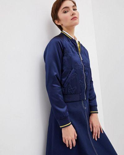 Куртка осенняя синий Blugirl Folies