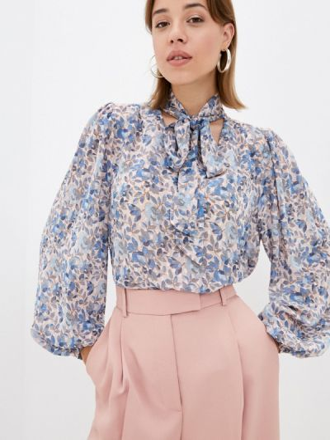 Бежевая блузка осенняя Zibi London