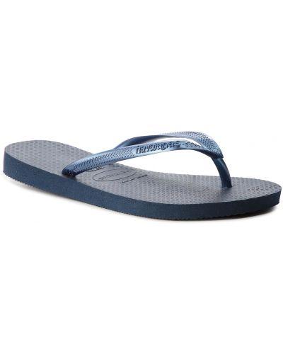 Niebieskie sandały japonki Havaianas