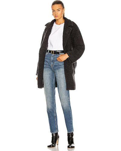 Куртка с накладными карманами - черная Ganni