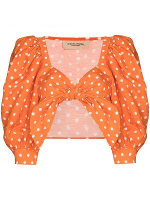 Укороченный топ - оранжевый Adriana Degreas