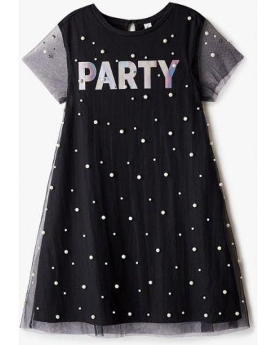 Черное платье на торжество Acoola