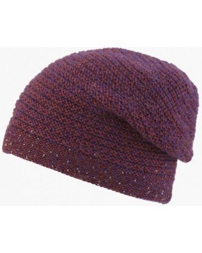 Фиолетовая шапка осенняя Fomas