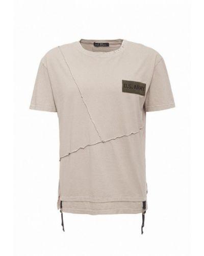 Бежевая футболка J.b4