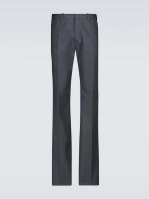 Spodnie bawełniane rozkloszowane Raf Simons