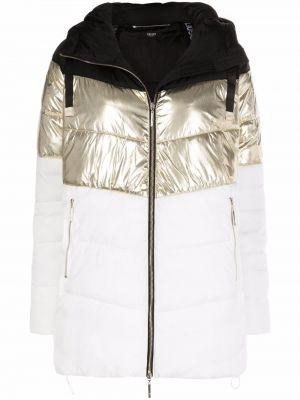 Белая куртка с капюшоном Liu Jo