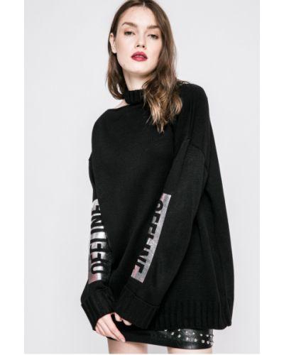 Вязаный свитер в полоску с узором Missguided