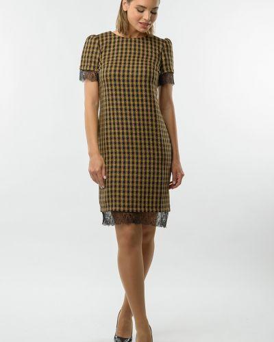 Платье-футляр с вырезом круглое Remix