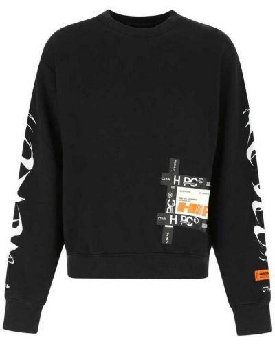 Czarna bluza dresowa Heron Preston