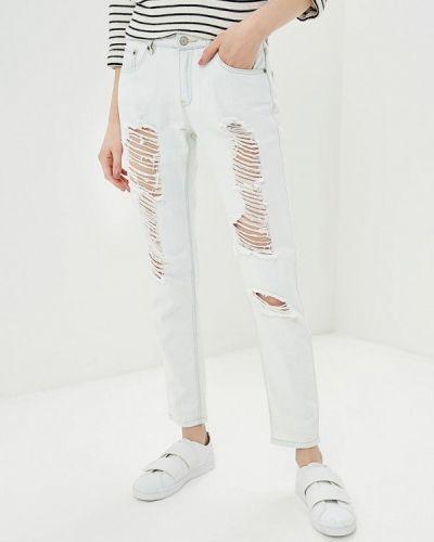Джинсы-скинни белые Jennyfer