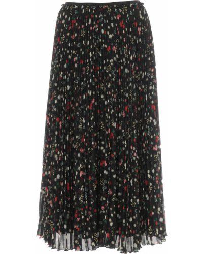 Czarna spódnica zimowa Red Valentino
