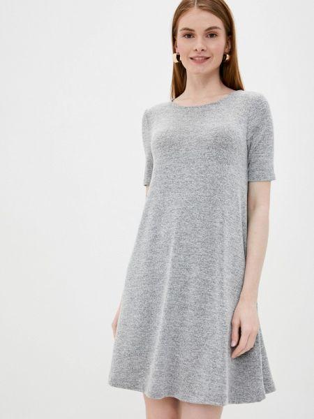 Серое повседневное платье Gap