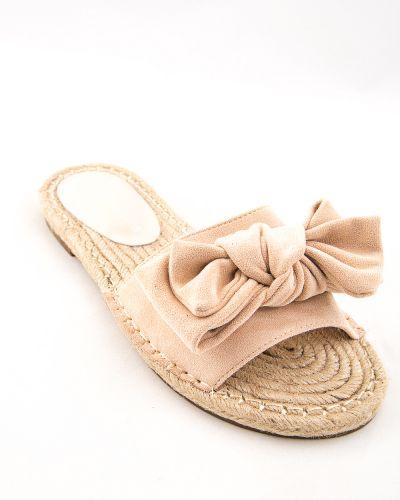 Текстильные бежевые туфли Stefaniya Nina