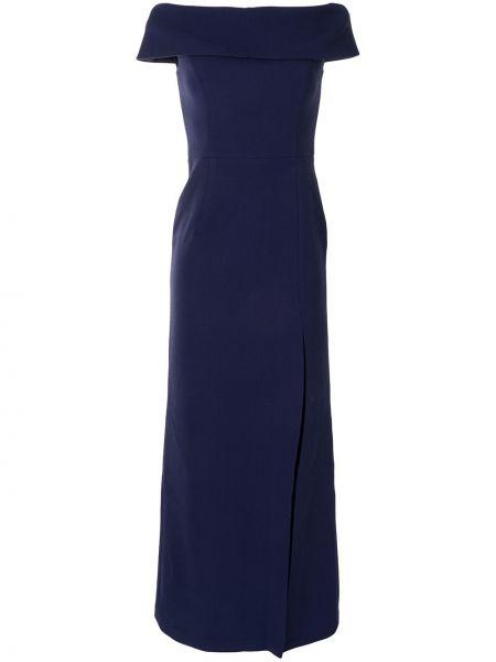 Вечернее платье длинное - синее Rebecca Vallance