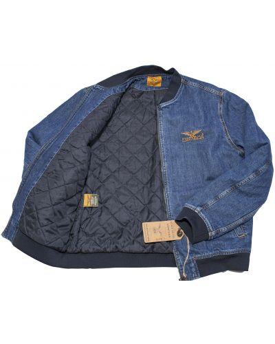 Джинсовая куртка классическая - синяя Montana
