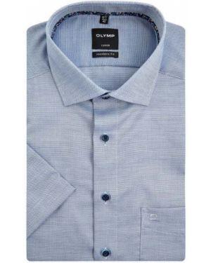 Koszula krótkie z krótkim rękawem z kołnierzem biznes Olymp