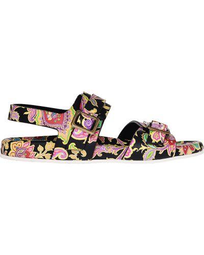 Кожаные сандалии Etro