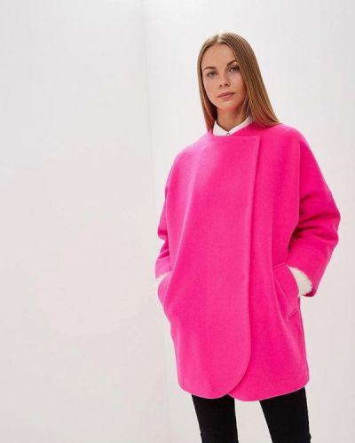 Пальто демисезонное розовое Immagi