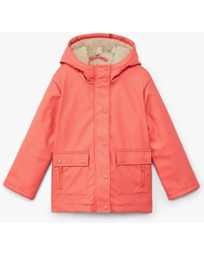 Оранжевая куртка Mango Kids