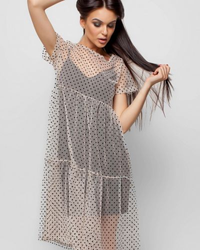 Коктейльное платье весеннее Karree
