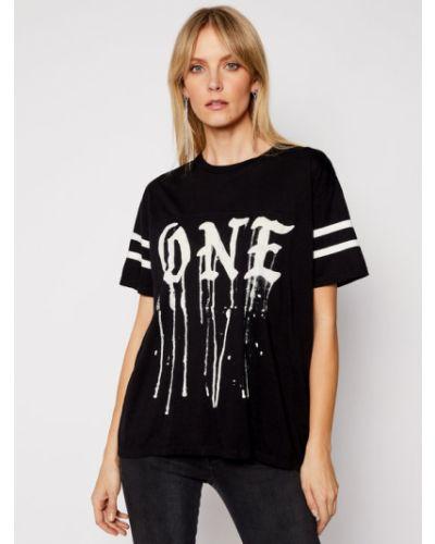 T-shirt - czarna One Teaspoon