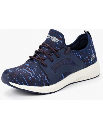 Синие кроссовки Skechers