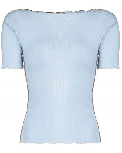 Niebieska t-shirt krótki rękaw Baserange