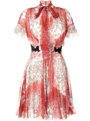 Шелковое платье мини Giambattista Valli