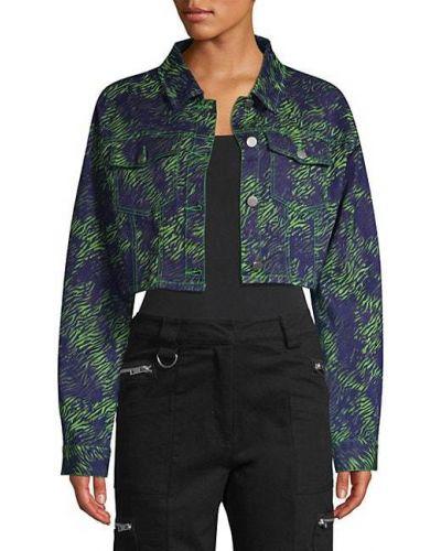 Ватная синяя джинсовая куртка с воротником I.am.gia