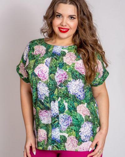Повседневная блузка с вырезом свободного кроя Belirini