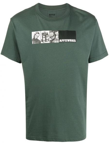 Koszula krótkie z krótkim rękawem prosto rozciągać Affix