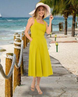 Платье с принтом Mix-mode