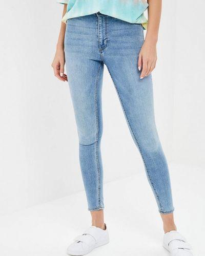 Голубые джинсы-скинни Cheap Monday