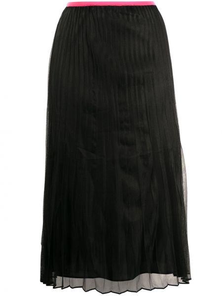Плиссированная юбка с завышенной талией пачка Helmut Lang