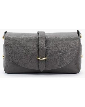 Кожаная сумка - серая Pulicati