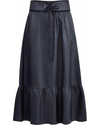 Юбка миди в складку винтажная Redvalentino