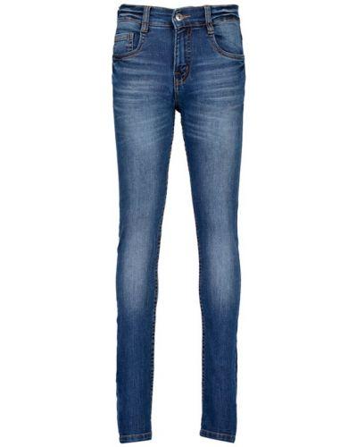 Синие джинсы с кокеткой Blue Seven
