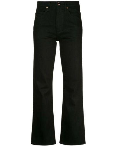 Czarne mom jeans Khaite