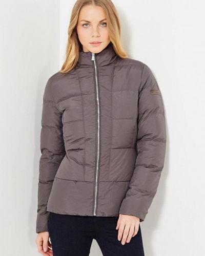 Зимняя куртка осенняя серая Trussardi Collection